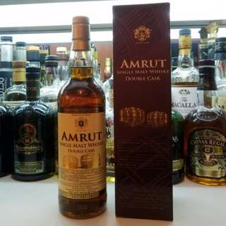 Amrut Double Cask 6年陳 Single Malt Whisky 印度威士忌