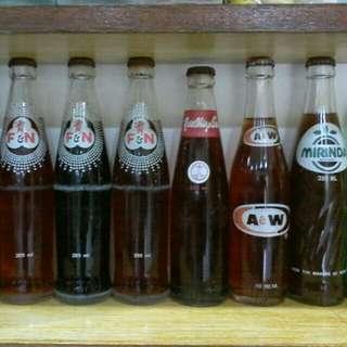 Full soda bottle 80s