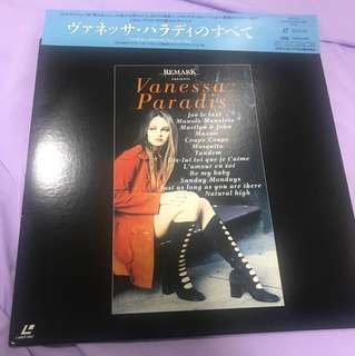 Vanessa Paradis Laser Disc The Video Collection