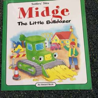Midge the little bulldozer