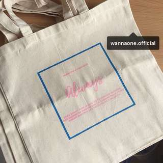 Wanna One Tote Bag