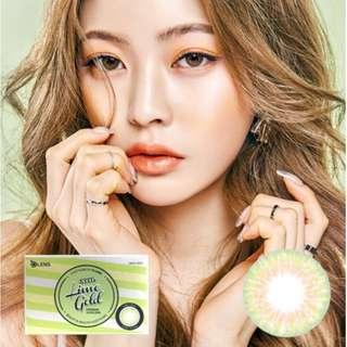 O-Lens Contact Lens [Lime Gold]
