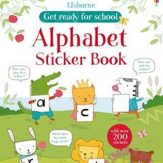 Usborne Children Educational Activity Sticker Book