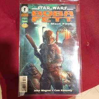 BOBA FETT: Murder Most Foul Comic book.