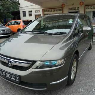 HONDA ODC 2.4(A) 2007 FULL SPEC