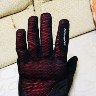 Glove for bike komine