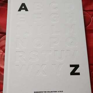 Limited Edition Kpop Group BIGBANG10 A to Z Collection
