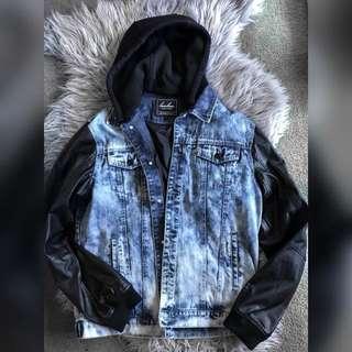 Bam bam acid wash jacket