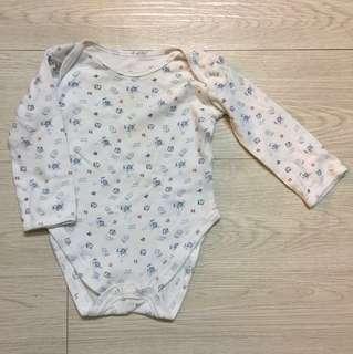 Mothercare little pilot theme long sleeve bodysuit