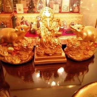 Wat Saman Phra Pikanet lord Ganesha bucha