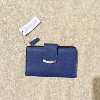 Kenneth Cole Navy Blue Wallet