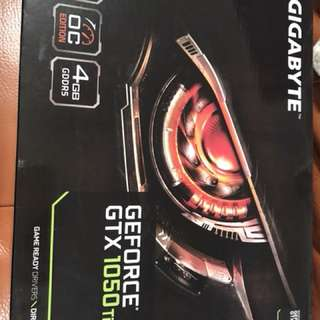 Graphic card new GEForce GTX 1050Ti