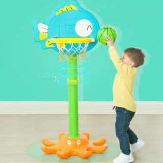 2 IN 1 ADJUSTABLE BASKET BALL