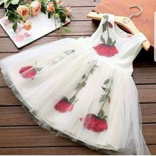 Dress rose kids