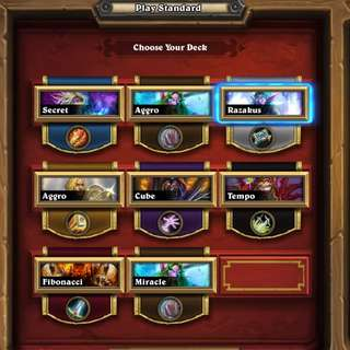 HEARTHSTONE COMPETITIVE BETA ACCOUNT (104 LEGENDS)