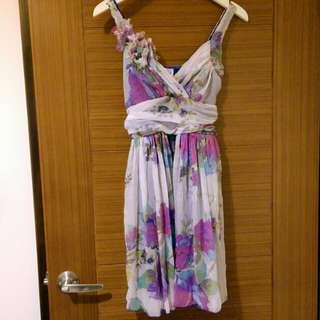 🚚 降降降🎊浪漫碎花小禮服洋裝