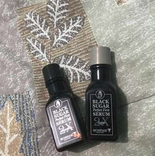 Black sugar serum