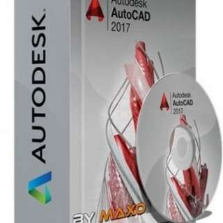 AutoCad 2017 for Windows 3 years
