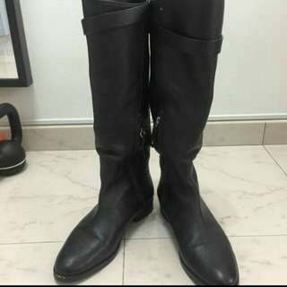 Mossimo Dutti leather boots
