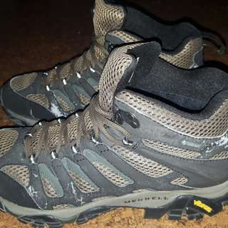 Shoes Mid Cut for hiking waterproof Merrell