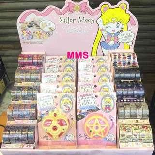 日本直送 美少女戰士 Sailor Moon 25週年 膠帶 膠紙  Masking Tape