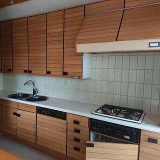 Fully kitchen set