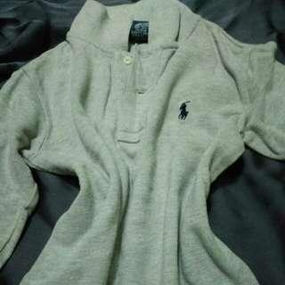Polo Boy Shirt Long Sleeve