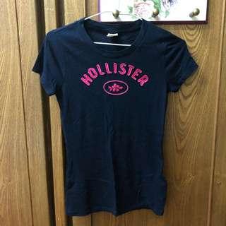 保留)原價800 Hollister貼布+刺繡短袖T恤