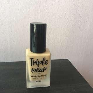Apieu triple wear foundation sand