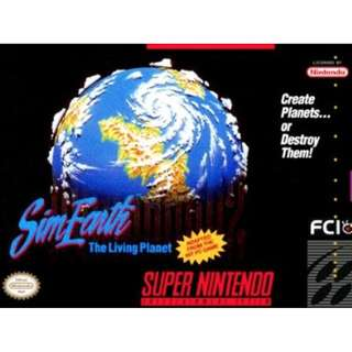 SimEarth: The Living Planet [SNES KOEI]