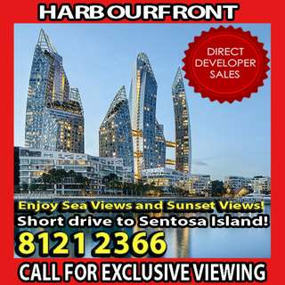 🌟BREATH-TAKING SEA VIEWS CONDO at Keppel Bay, YOUR CHANCE to catch beautiful SUNSET everyday, SHORT DRIVE to Singapore's famous SENTOSA Island and TELOK BLANGAH/HARBOURFRONT MRT Station! 🌟