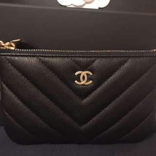 Chanel coins pouch with charms