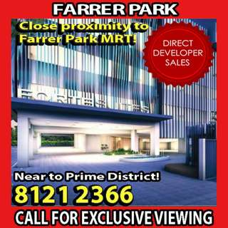 🌟TOP OBTAINED!! YOUR CHANCE to IMMEDIATELY GRAB: FREEHOLD Condo near FARRER PARK MRT, 360 DEGREES SKYLINE VIEW, HIGHLY DEMANDED LOCATION where it has endless choices to shopping and entertainment amenities and NOT FAR FROM ORCHARD CITY 🌟
