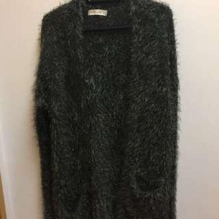 Abercrombie furry coat