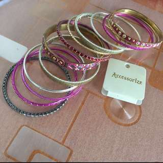 Accessorize bracelet 手鐲 ($50 for all)