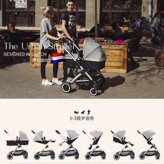 Elittile Baby Stroller (two way / high / comfortable)