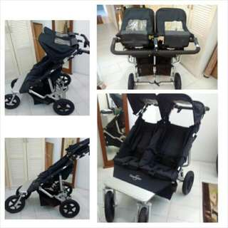 Easy Walker Double Stroller