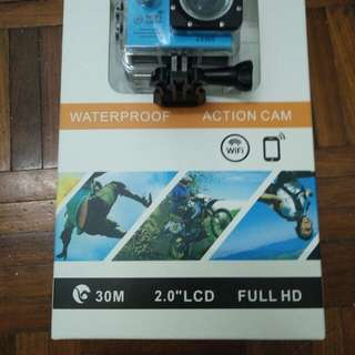 Action cam 1080HD with WIFi (NEW)