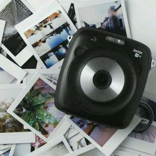Fujifilm Instax Square SQ10 (include 5 boxes instant film)
