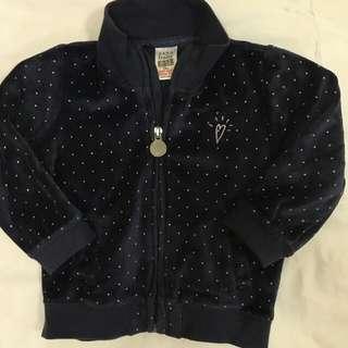 Zara Baby Velvet Jacket