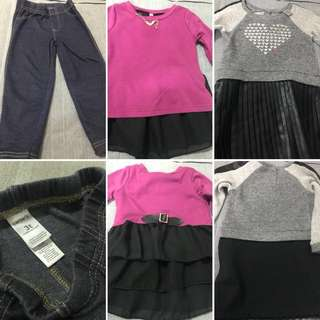 2T - 3T Dress and Jegging