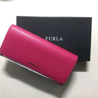 Furla Bifold Babylon Wallet (pink)