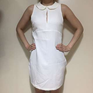 Pdc white dress