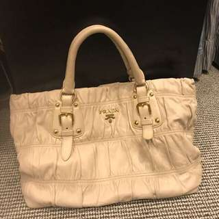 Authentic Prada Lamb Skin with Long Strap