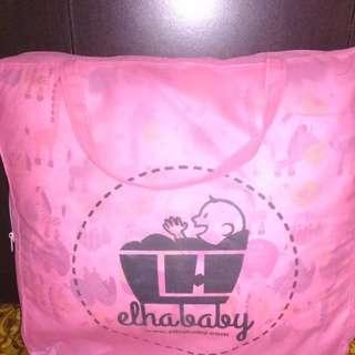 Set kasur bayi kelambu, komplit bantal, 2 guling