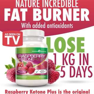 BEST price. Renowed RASPBERRY KETONE PLUS, Burn fats at maximum level.