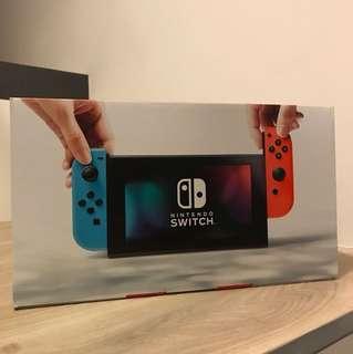 New Nintendo Switch Neon Export Set