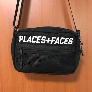 Places+Faces Black Shoulder Bag
