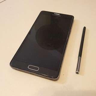 Samsung Note 4 Spoilt