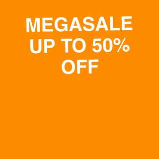 MEGASALE ON SELECTED ITEMS